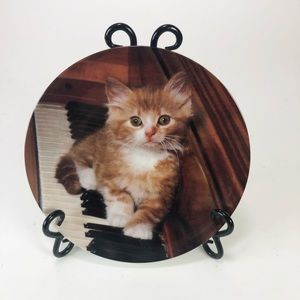 "1993 ""Kitten on the Keys"" collector plate"